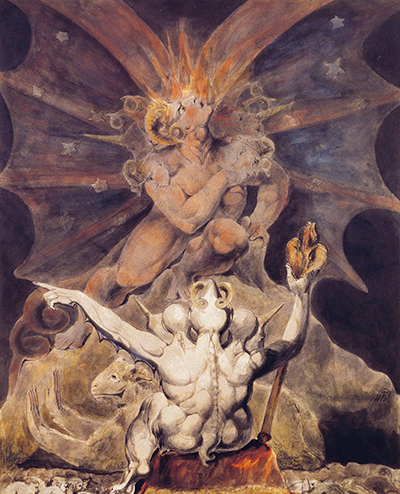 The Number of the Beast is 666 William Blake
